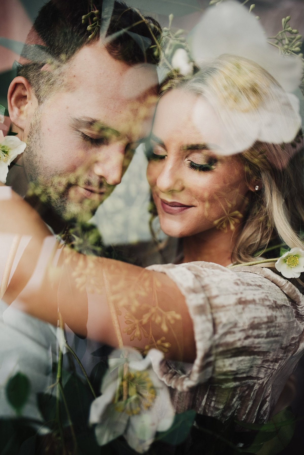 Engagement Session | Double Exposure | Wedding Florist