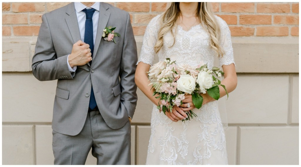Corey + Ashley | Romantic and Classic Sage and Blush Pink Wedding