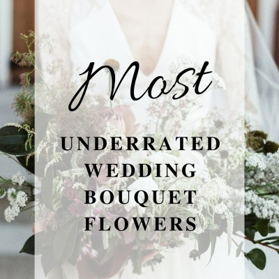 Most Underrated Wedding Bouquet Flowers You Shouldn't Overlook