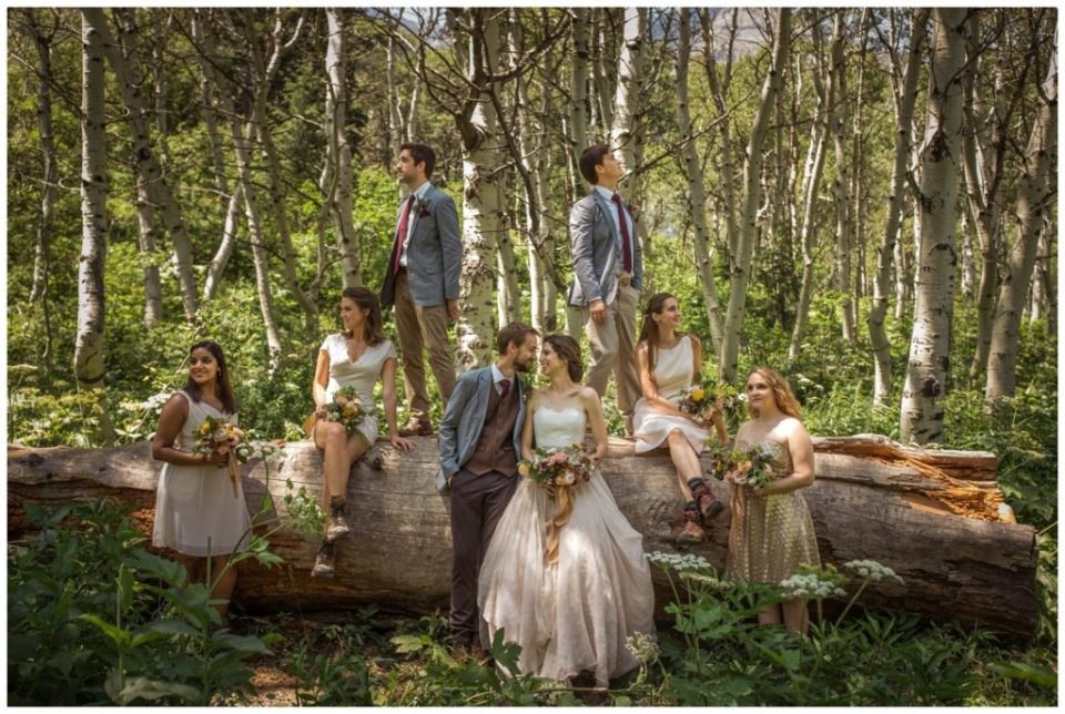 Ohio Wedding Florist | Woodsy Forest Mountain Wedding