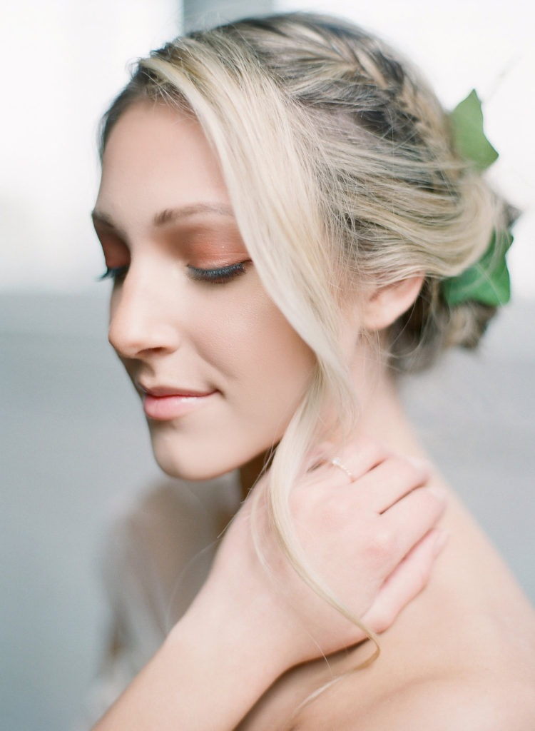 Greenery Romantic Wedding Hairpiece