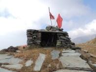 Shrine on a hill.