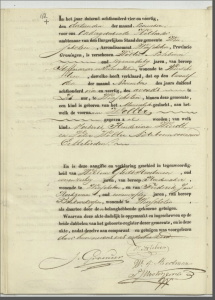 Wolter Noteboom Birth Registration