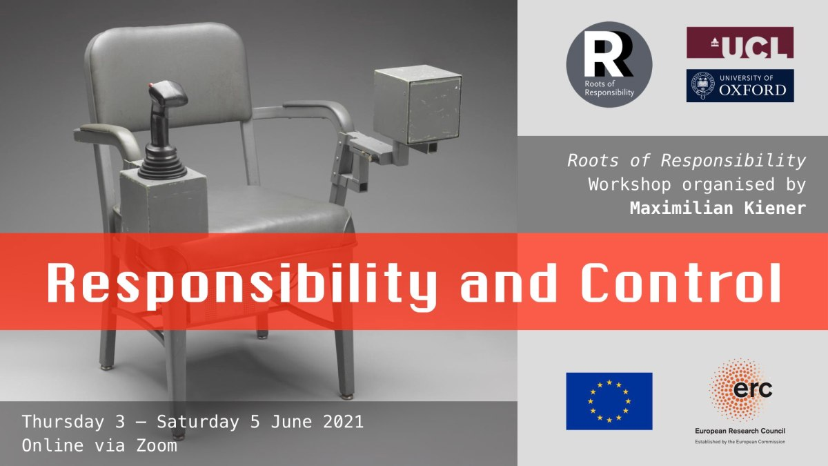 Banner for Responsibility and Control workshop