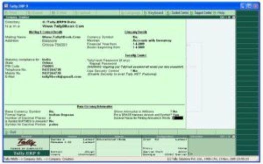 Tally ERP 9 Crack Release 6.1 Crack Patch Serial Key