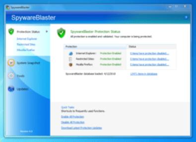 SpywareBlaster 5.4 Crack License Key Full Download