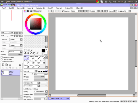 Paint Tool Sai  English Full