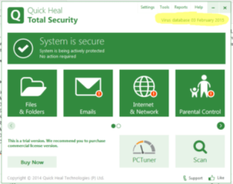 Quick Heal Total Security 2018 Crack Serial Keys Full Download