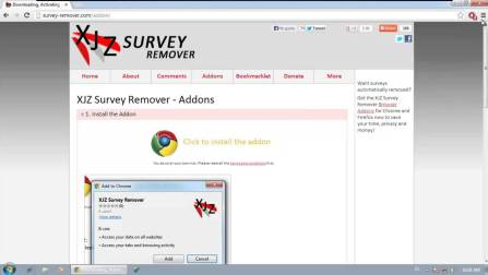 XJZ Survey Remover [Crack + Latest]