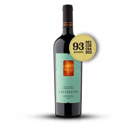 Vinho chilenos Tradition Petit Verdot Cabernet Franc 2018