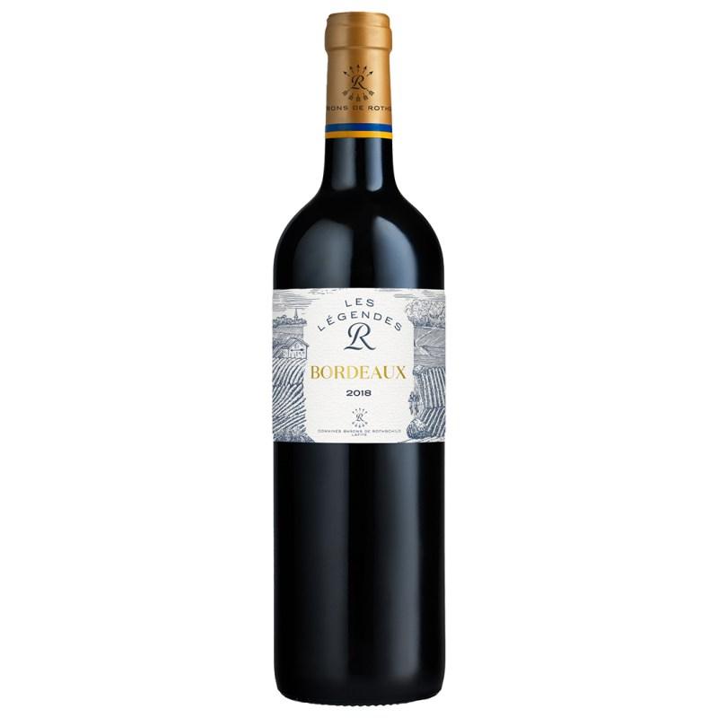 Légende Bordeaux Rouge Barons de Rothschild Lafite 2018