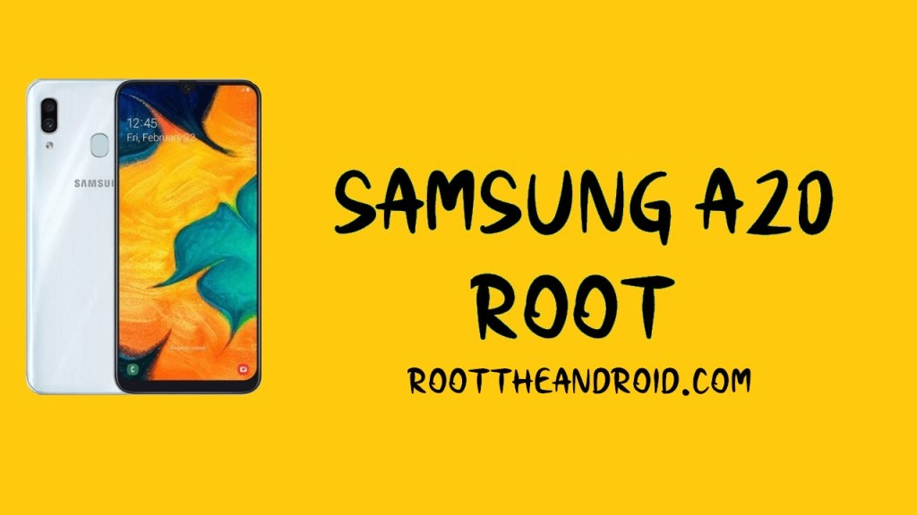 Samsung A20 Root