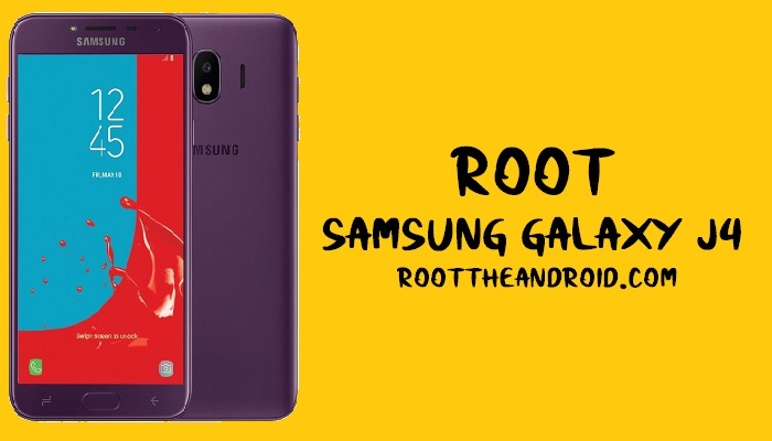 Root Samsung Galaxy J4 SM-J400F/G Android 8.0 using TWRP