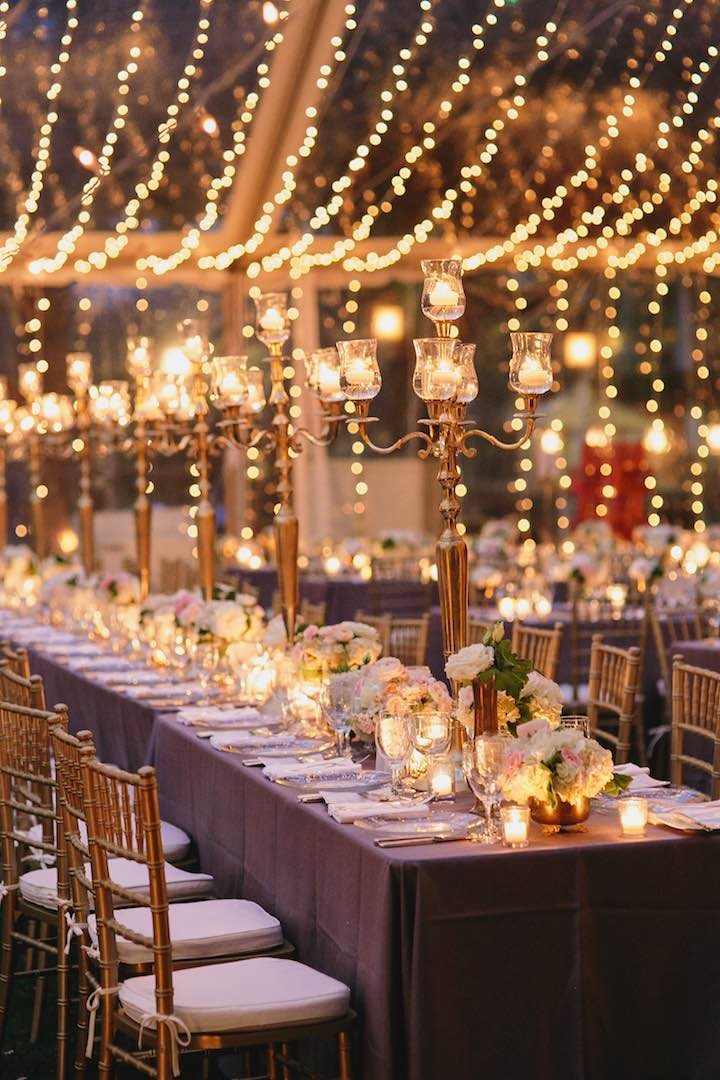 Types of Beautiful Lighting Designs for Gorgeous Wedding