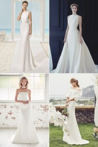Contemporary Wedding Dresses with Simple Design for Not-As ...