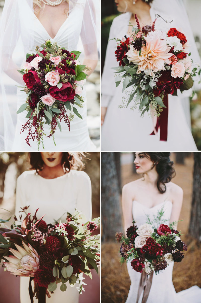 Beautiful Winter Wedding Bouquets Which Make You Stunning  roowedding