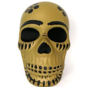 Golden Skull Squishy