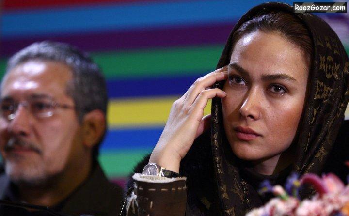 عکسهای آناهیتا نعمتی در جشنواره فیلم فجر