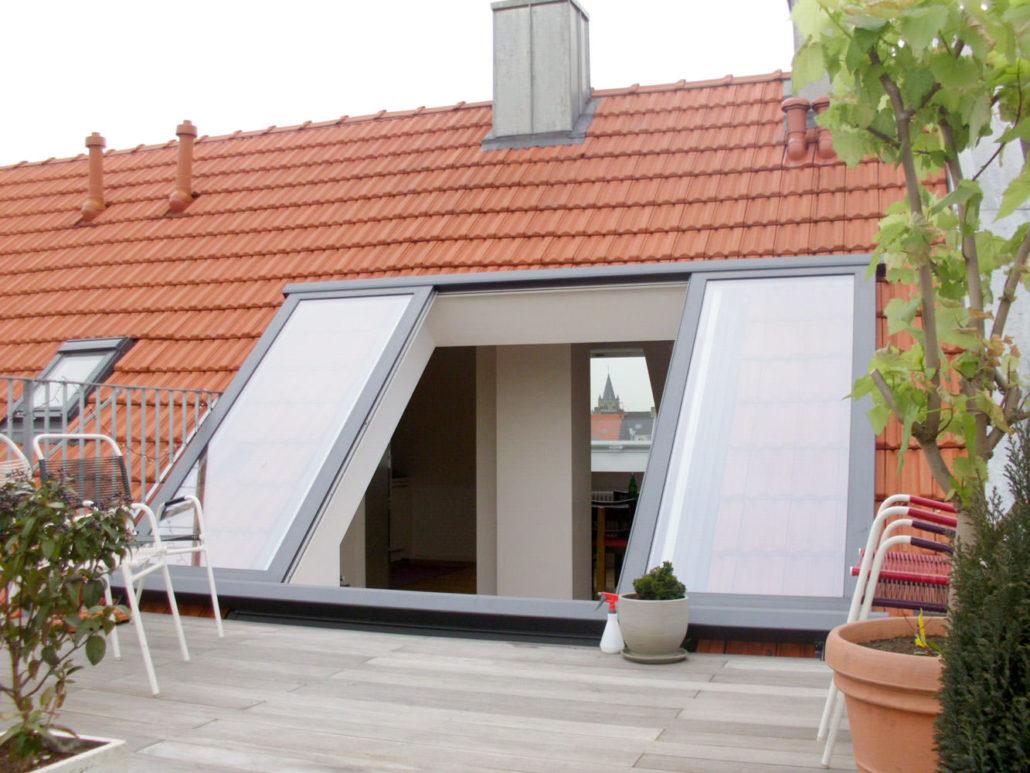 Balkon In Dachschrage Einbauen Kostenloser Energie Check Bei