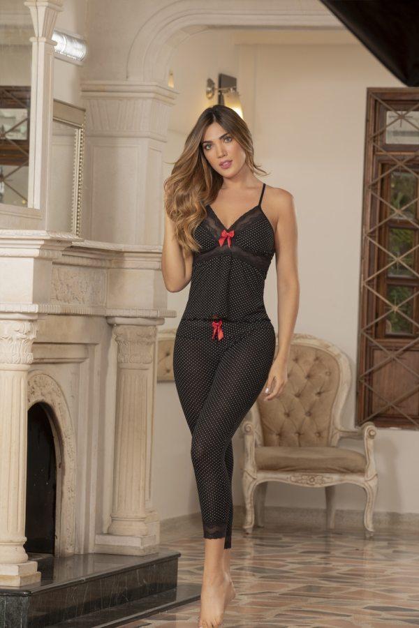 pijama-capri-viscosa-negra-bogota
