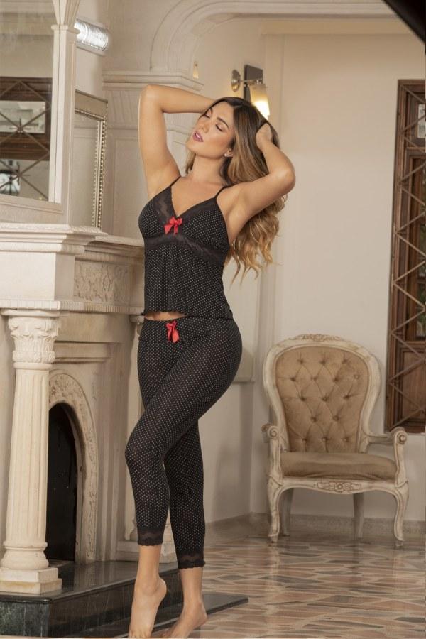 pijama-capri-viscosa-negra