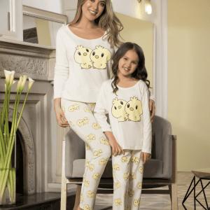 pijama-pantalon-mamá-hija-pato