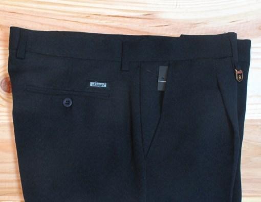 Pantalones de vestir baratos para hombre con pinzas