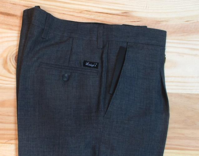 Pantalones De Vestir Para Hombre Pantalones Con Pinzas Para Caballero