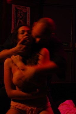 Intense moments after shibari bondage session with WykD Dave & Clover