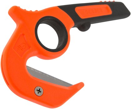 Gerber open (stanley) blade cutter with wide throat