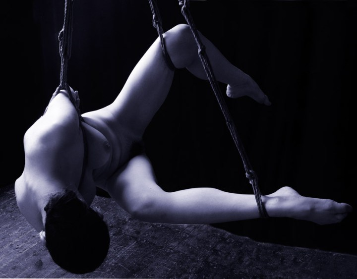 Gestalta Japanese style rope bondage suspension