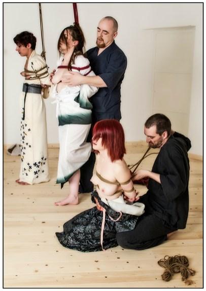 Shibari session with Kinbaku Luxuria