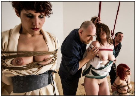 Shibari session with Kinbaku Luxuria
