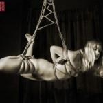 Shibari suspension bondage.