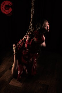 Low stressful shibari suspension