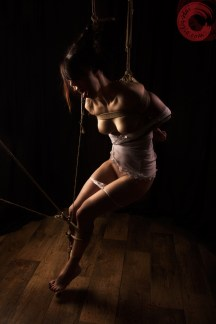Suspended and pegged.