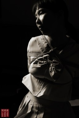 Shibari bondage with Nancy Wang in London