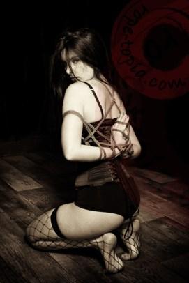 Dark Fairy Shibari bondage