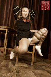 Japanese schoolgirl bondage