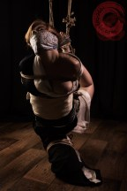 Gorgone shibari bondage shoot