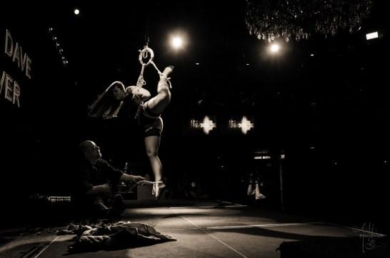 Shibari bondage performance in Dallas 2015 photos by ABequilibrium