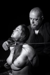WykD Dave & Clover Shibari in Prague 2016