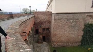 Brno Castle dungeon entrance