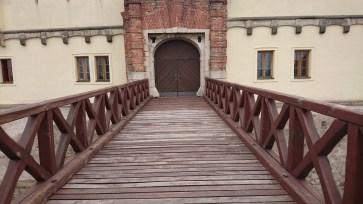 Castle entrance bridge