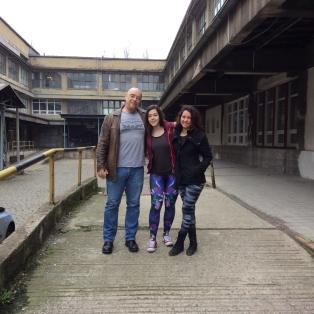 Prague, venue with WykD Dave, Clover & Fuoco