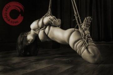 Beauvoir Fetish Shibari 緊縛 縛り 拘束 縄 semi suspension