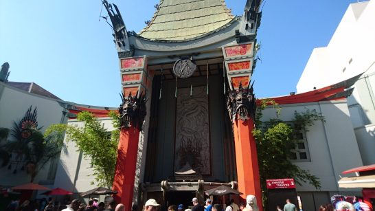 The famous Chinese Theatre on Hollywood Boulevard during our 2016 shibari intensive in LA
