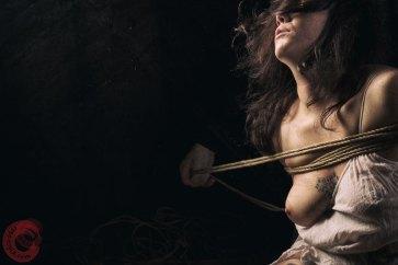 Tying Sophia Shibari