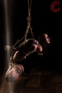 Sophia Shibari in hard exposing suspension with futomomo. beautiful kinbaku, beautiful suffering.