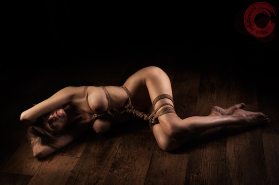 Shibari with Angel Price